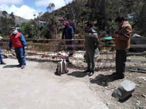 Obra de mejoramiento de pistas se ubica en distrito de Phara